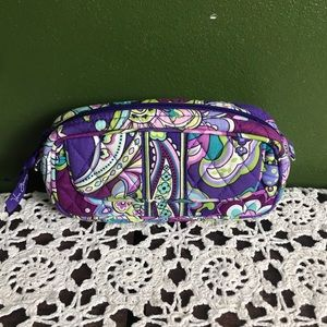 Vera Bradley mini cosmetic bag